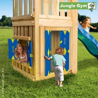 JUNGLE GYM PLAYHOUSE Játszóház modul 3m-es csúszdás tornyokhoz