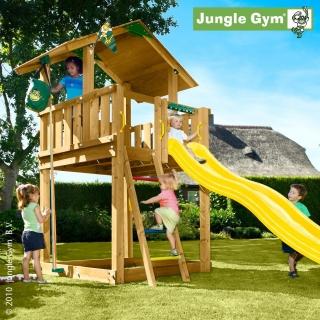 jungle gym chalet kerti otthoni faj tsz t r torony. Black Bedroom Furniture Sets. Home Design Ideas