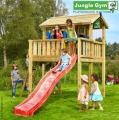 JUNGLE GYM Playhouse h�zik�hoz XL m�ret� terasz cs�szd�val