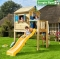 JUNGLE GYM Playhouse h�zik�hoz L m�ret� terasz cs�szd�val